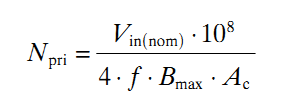 turns calculation smps transformator.png
